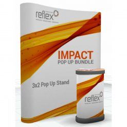 3x2 impact pop up stand