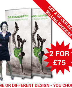 Budget banner 2 for £75