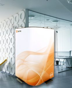 Curve Graphic Display Stands