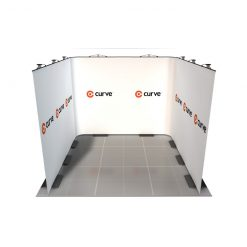curve graphic display kit 3m x 3m image