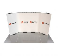 curve graphic display kit 4m x 2m option 2 image
