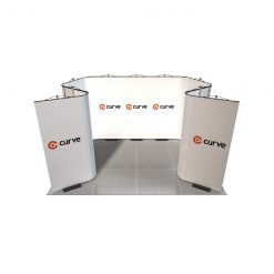 curve graphic display kit 4m x 3m image
