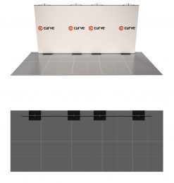 curve graphic display kit 5m x 2m combined