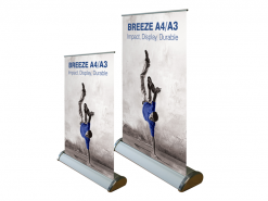 Tabletop A4 Roller Banner