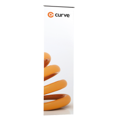 Curve 425mm flexi graphic panel