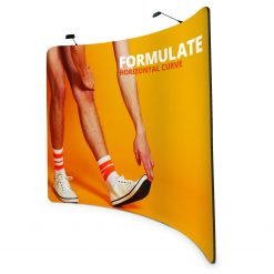 Formulate Curve Fabric Exhibition Stand