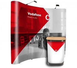 Our best selling 3×3 pop up display kit bundle