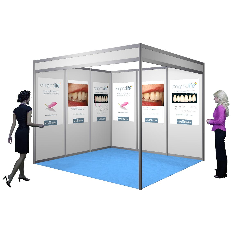 Exhibition Shell : Shell scheme posters reflex exhibitions